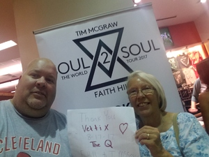 bryan attended Soul2Soul Tour With Tim McGraw and Faith Hill on Aug 17th 2017 via VetTix