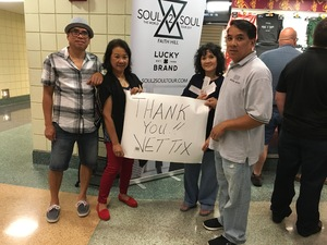 Alfredo attended Soul2Soul Tour With Tim McGraw and Faith Hill on Aug 17th 2017 via VetTix