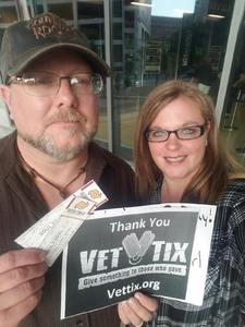 Kenneth attended Soul2Soul Tour With Tim McGraw and Faith Hill on Aug 17th 2017 via VetTix
