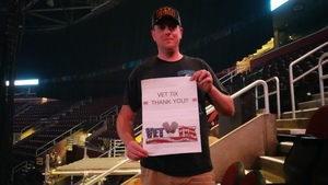 Joshua attended Soul2Soul Tour With Tim McGraw and Faith Hill on Aug 17th 2017 via VetTix