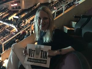 Melissa attended Soul2Soul Tour With Tim McGraw and Faith Hill on Aug 17th 2017 via VetTix