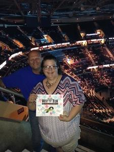Orval attended Soul2Soul Tour With Tim McGraw and Faith Hill on Aug 17th 2017 via VetTix