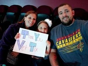 Brandon attended Soul2Soul Tour With Tim McGraw and Faith Hill on Aug 17th 2017 via VetTix