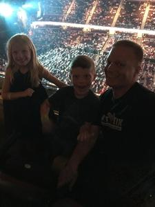 Eric attended Soul2Soul Tour With Tim McGraw and Faith Hill on Aug 17th 2017 via VetTix