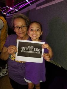 Jesse attended Los Angeles Sparks vs. Minnesota Lynx - WNBA on Aug 27th 2017 via VetTix