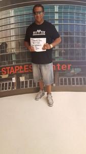 LEWIS attended Los Angeles Sparks vs. Minnesota Lynx - WNBA on Aug 27th 2017 via VetTix