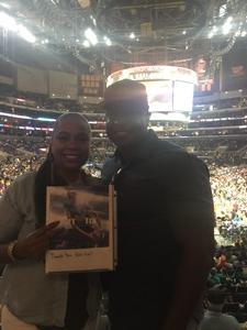 Lorenzo attended Los Angeles Sparks vs. Minnesota Lynx - WNBA on Aug 27th 2017 via VetTix