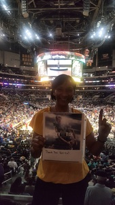 Shielda attended Los Angeles Sparks vs. Minnesota Lynx - WNBA on Aug 27th 2017 via VetTix