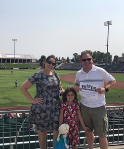 Click To Read More Feedback from Kansas City T-bones vs. St. Paul Saints - Choice Seating - American Association of Independent Professional Baseball
