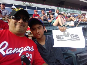 Click To Read More Feedback from Texas Rangers vs. Seattle Mariners - MLB
