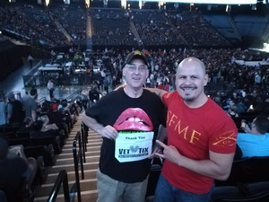 Scott attended Avenged Sevenfold: the Stage World Tour With a Day to Remember - Live in Concert on Jul 31st 2017 via VetTix