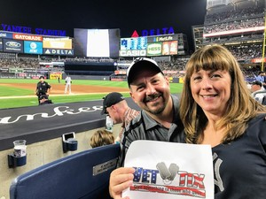 Al attended New York Yankees vs. Tampa Bay Rays - MLB - Premium Seating on Jul 28th 2017 via VetTix