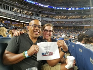 roberto attended New York Yankees vs. Tampa Bay Rays - MLB - Premium Seating on Jul 28th 2017 via VetTix