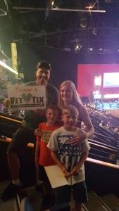 Seth attended PBR - Music City Knockout - Friday Night Only on Aug 18th 2017 via VetTix