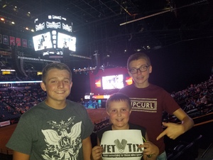 Erin attended PBR - Music City Knockout - Friday Night Only on Aug 18th 2017 via VetTix