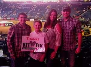 Brian attended PBR - Music City Knockout - Friday Night Only on Aug 18th 2017 via VetTix
