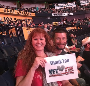 Janet attended PBR - Music City Knockout - Friday Night Only on Aug 18th 2017 via VetTix