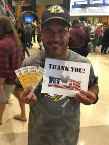 Dennis attended PBR - Music City Knockout - Friday Night Only on Aug 18th 2017 via VetTix