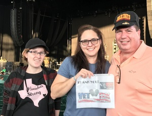 GLENN attended Goo Goo Dolls: Long Way Home Summer Tour With Phillip Phillips - Reserved Seats on Sep 7th 2017 via VetTix