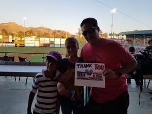 Click To Read More Feedback from Lake Elsinore Storm vs. Lancaster - MiLB