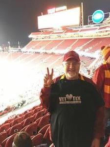 Steven attended Pac-12 Football Championship - Stanford Cardinal vs. Southern California Trojans on Dec 1st 2017 via VetTix