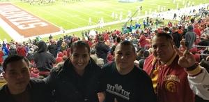 Daniel attended Pac-12 Football Championship - Stanford Cardinal vs. Southern California Trojans on Dec 1st 2017 via VetTix