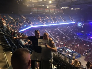 Jason attended John Mellencamp With Special Guest Carlene Carter on Aug 13th 2017 via VetTix