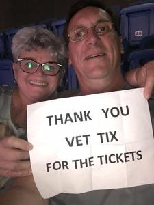 Russell attended John Mellencamp With Special Guest Carlene Carter on Aug 13th 2017 via VetTix