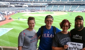 Click To Read More Feedback from New York Mets vs. Texas Rangers - MLB