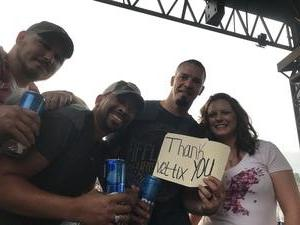 Olivia attended Brantley Gilbert: the Devil Don't Sleep Summer Tour With Special Guest Tyler Farr and Luke Combs on Aug 6th 2017 via VetTix