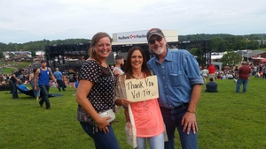 Holly attended Brantley Gilbert: the Devil Don't Sleep Summer Tour With Special Guest Tyler Farr and Luke Combs on Aug 6th 2017 via VetTix