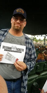 Joseph attended Brantley Gilbert: the Devil Don't Sleep Summer Tour With Special Guest Tyler Farr and Luke Combs on Aug 6th 2017 via VetTix