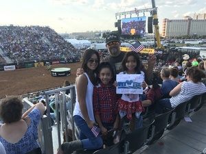 Click To Read More Feedback from Professional Bull Riders: Built Ford Tough Series - Sunday - Reserved Seating