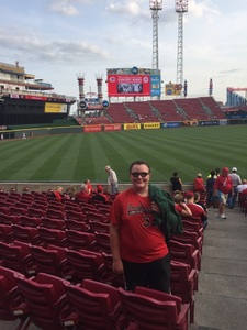 Jeff attended Cincinnati Reds vs. Pittsburgh Pirates - MLB on Aug 25th 2017 via VetTix