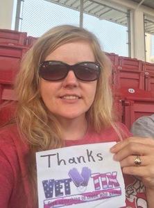 Teresa attended Cincinnati Reds vs. Pittsburgh Pirates - MLB on Aug 25th 2017 via VetTix