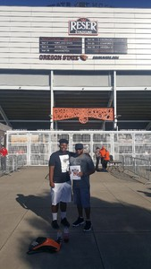 Michael attended Oregon State Beavers vs. Portland State - NCAA Football on Sep 2nd 2017 via VetTix