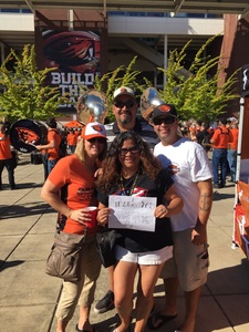 Jerry attended Oregon State Beavers vs. Portland State - NCAA Football on Sep 2nd 2017 via VetTix