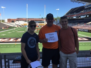 Mark attended Oregon State Beavers vs. Portland State - NCAA Football on Sep 2nd 2017 via VetTix