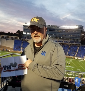 Michael attended Duke University Blue Devils vs. Georgia Tech - NCAA Football on Nov 18th 2017 via VetTix