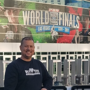 Daniel attended PBR - Built Ford Tough Series - World Finals on Nov 3rd 2017 via VetTix