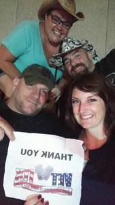 Heather attended Soul2Soul Tour With Tim McGraw and Faith Hill on Aug 18th 2017 via VetTix