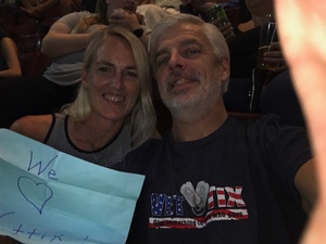 Sean attended Soul2Soul Tour With Tim McGraw and Faith Hill on Aug 18th 2017 via VetTix