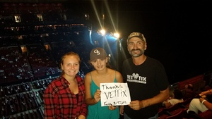 Lawrence attended Soul2Soul Tour With Tim McGraw and Faith Hill on Aug 18th 2017 via VetTix