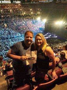 Greg attended Soul2Soul Tour With Tim McGraw and Faith Hill on Aug 18th 2017 via VetTix