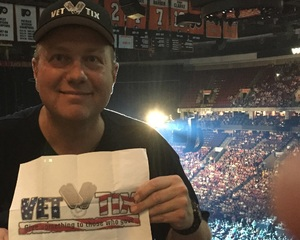 Scott attended Soul2Soul Tour With Tim McGraw and Faith Hill on Aug 18th 2017 via VetTix