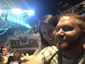 Colin attended Soul2Soul Tour With Tim McGraw and Faith Hill on Aug 18th 2017 via VetTix