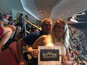 Valerie attended Soul2Soul Tour With Tim McGraw and Faith Hill on Aug 18th 2017 via VetTix