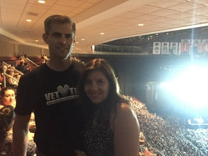 Jason attended Soul2Soul Tour With Tim McGraw and Faith Hill on Aug 18th 2017 via VetTix