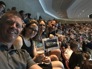Rob attended Soul2Soul Tour With Tim McGraw and Faith Hill on Aug 18th 2017 via VetTix