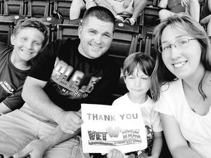 Bill and Hope attended Kansas City Royals vs. Minnesota Twins - MLB on Sep 10th 2017 via VetTix